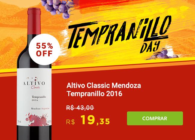 Altivo Classic Mendoza Tempranillo 2016