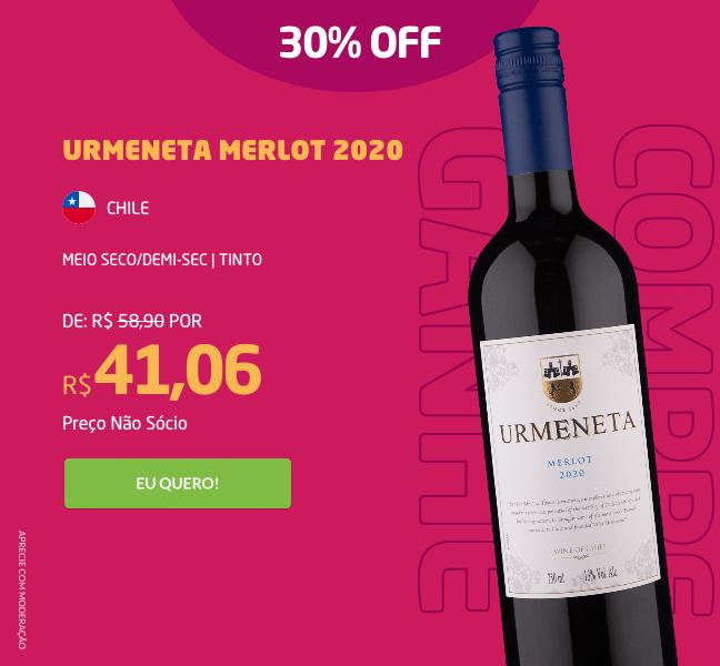 Urmeneta Merlot 2020