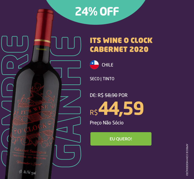 Its Wine O Clock Cabernet 2020