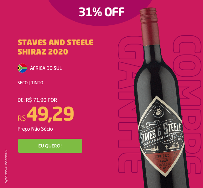 Staves And Steele Shiraz 2020