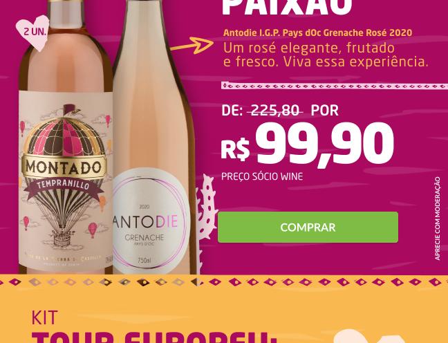 Kit Amor e Paixão (2 garrafas)