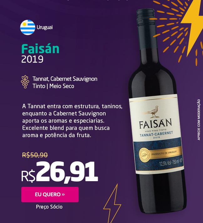 Faisán Tannat Cabernet 2019